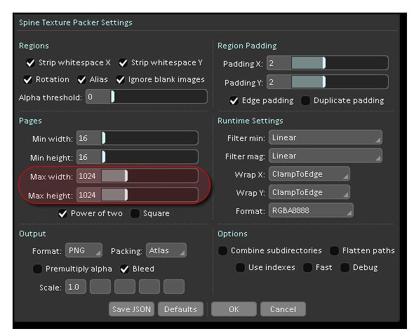 Spine_TexturePacker